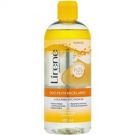 Lirene Micel Pure Nutri dvoufázová micelární voda s ricinovým olejem  400 ml