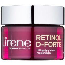 Lirene Retinol D-Forte 70+ rozjasňující denní krém s liftingovým efektem  50 ml