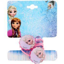Lora Beauty Disney Frozen tenké gumičky do vlasů tvar kytička  2 ks