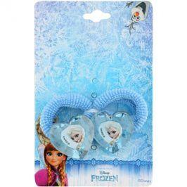 Lora Beauty Disney Frozen gumičky do vlasů ve tvaru srdce  2 ks
