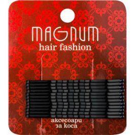 Magnum Hair Fashion pinetky do vlasů černá  12 ks