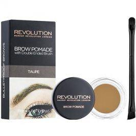 Makeup Revolution Brow Pomade pomáda na obočí odstín Taupe 2,5 g