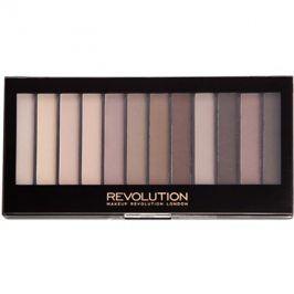 Makeup Revolution Essential Mattes 2 paleta očních stínů  14 g
