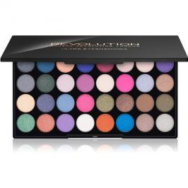 Makeup Revolution Eyes Like Angels paleta očních stínů  16 g