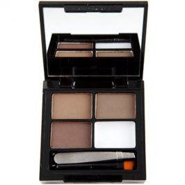 Makeup Revolution Focus & Fix sada pro dokonalé obočí odstín Medium Dark 4 g