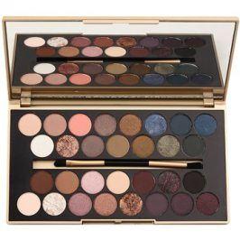 Makeup Revolution Fortune Favours the Brave paleta očních stínů se zrcátkem a aplikátorem  16 g