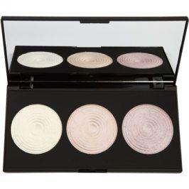 Makeup Revolution Highlight paleta rozjasňujících pudrů  15 g