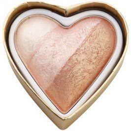 Makeup Revolution I ♥ Makeup Blushing Hearts tvářenka odstín Iced Hearts 10 g