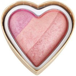 Makeup Revolution I ♥ Makeup Blushing Hearts tvářenka odstín Candy Queen Of Hearts 10 g