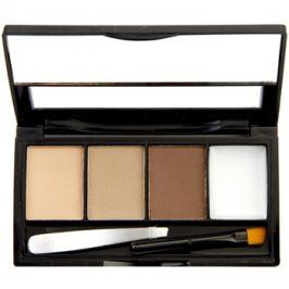 Makeup Revolution I ♥ Makeup Brows Kit set na obočí odstín Fairest Of Them All 3 g