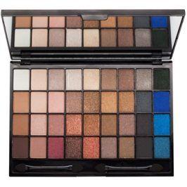 Makeup Revolution I ♥ Makeup Explicit Content paleta očních stínů se zrcátkem a aplikátorem  28 g