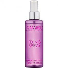 Makeup Revolution I ♥ Makeup Fixing Spray fixační sprej na make-up  100 ml