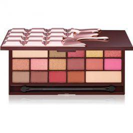 Makeup Revolution I ♥ Makeup Chocolate Rose Gold paleta očních stínů 14 x 1,22 + 2 x 2,4 g