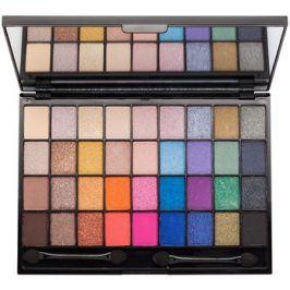 Makeup Revolution I ♥ Makeup Makeup Geek paleta očních stínů se zrcátkem a aplikátorem  28 g