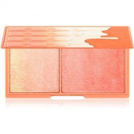 Makeup Revolution I ♥ Makeup Peach And Glow rozjasňující paletka  11 g