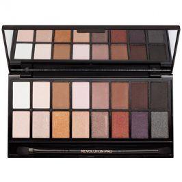 Makeup Revolution Iconic Pro 1 paleta očních stínů se zrcátkem a aplikátorem  16 g