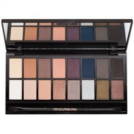Makeup Revolution Iconic Pro 2 paleta očních stínů se zrcátkem a aplikátorem  16 g