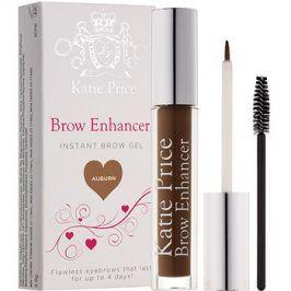Makeup Revolution Katie Price fixační gel na obočí odstín Auburn 3,8 g