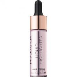 Makeup Revolution Liquid Highlighter tekutý rozjasňovač odstín Liquid Ethereal 18 ml