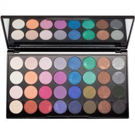 Makeup Revolution Mermaids Forever paleta očních stínů se zrcátkem  20 g
