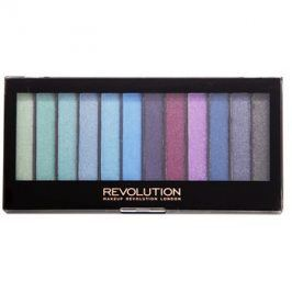 Makeup Revolution Mermaids Vs Unicorns paleta očních stínů  14 g