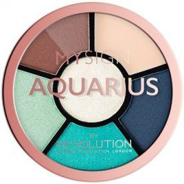 Makeup Revolution My Sign paletka na oči odstín Aquarius  4,6 g