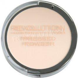 Makeup Revolution Pressed Powder kompaktní pudr odstín Porcelain 7,5 g
