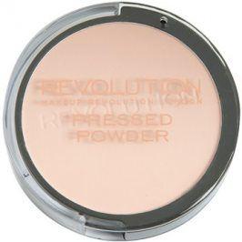 Makeup Revolution Pressed Powder kompaktní pudr odstín Translucent 7,5 g