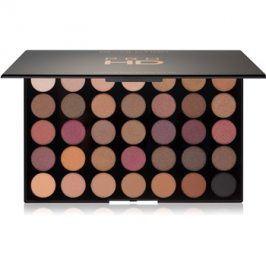 Makeup Revolution Pro HD paleta očních stínů odstín Luxe 30 g