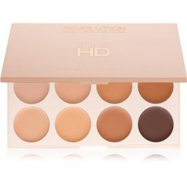 Makeup Revolution Pro HD Camouflage paleta korektorů odstín Medium Dark 10 g