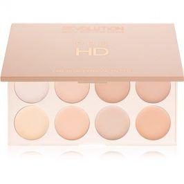 Makeup Revolution Pro HD Camouflage paleta korektorů odstín Light 10 g