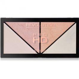 Makeup Revolution Pro HD Strobe Revolution paleta rozjasňovačů  14 g