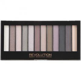 Makeup Revolution Romantic Smoked paleta očních stínů  14 g