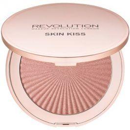 Makeup Revolution Skin Kiss rozjasňovač odstín Peach Kiss 14 g