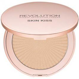 Makeup Revolution Skin Kiss rozjasňovač odstín Golden Kiss 14 g