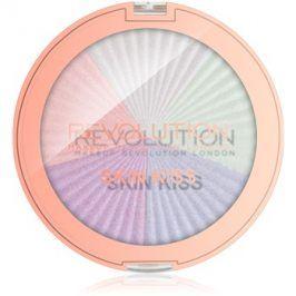 Makeup Revolution Skin Kiss rozjasňovač na oči a tvář odstín Dream Kiss 14 g