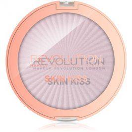 Makeup Revolution Skin Kiss rozjasňovač na oči a tvář odstín Pink Kiss 14 g
