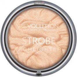 Makeup Revolution Strobe rozjasňovač odstín Gold Addict 7,5 g