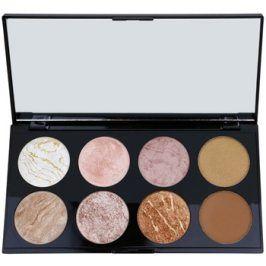 Makeup Revolution Ultra Blush paleta tvářenek odstín Golden Sugar 13 g