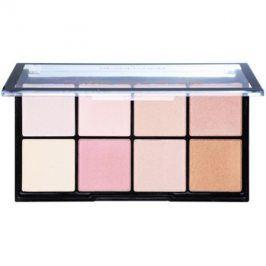 Makeup Revolution Ultra Pro Glow paleta rozjasňovačů  20 g