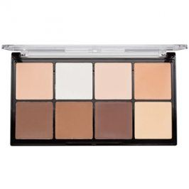 Makeup Revolution Ultra Pro HD Light Medium paleta na kontury obličeje pudrová  20 g