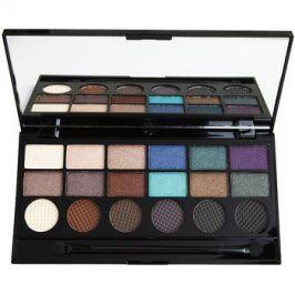 Makeup Revolution Welcome To The Pleasuredome paleta očních stínů  13 g