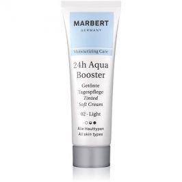 Marbert Moisture Care 24h AquaBooster tónovací pleťový krém odstín 02 Light 30 ml