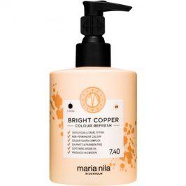 Maria Nila Colour Refresh Bright Copper jemná vyživující maska bez permanentních barevných pigmentů výdrž 4-10 umytí 7.40 300 ml