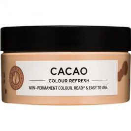 Maria Nila Colour Refresh Cacao jemná vyživující maska bez permanentních barevných pigmentů výdrž 4-10 umytí 6.00 100 ml