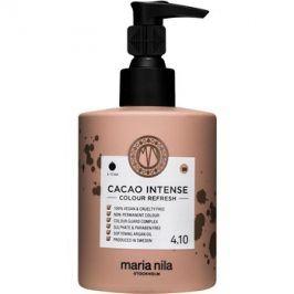 Maria Nila Colour Refresh Cacao Intense jemná vyživující maska bez permanentních barevných pigmentů výdrž 4-10 umytí 4.10 300 ml