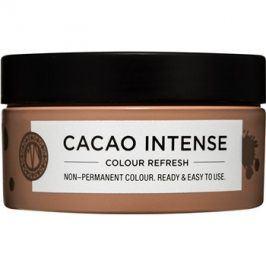 Maria Nila Colour Refresh Cacao Intense jemná vyživující maska bez permanentních barevných pigmentů výdrž 4-10 umytí 4.10 100 ml