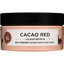 Maria Nila Colour Refresh Cacao Red jemná vyživující maska bez permanentních barevných pigmentů výdrž 4-10 umytí 6.35 100 ml