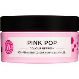 Maria Nila Colour Refresh Pink Pop jemná vyživující maska bez permanentních barevných pigmentů výdrž 4-10 umytí 0.06 100 ml