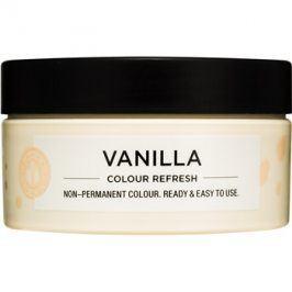 Maria Nila Colour Refresh Vanilla jemná vyživující maska bez permanentních barevných pigmentů výdrž 4-10 umytí 10.32 100 ml